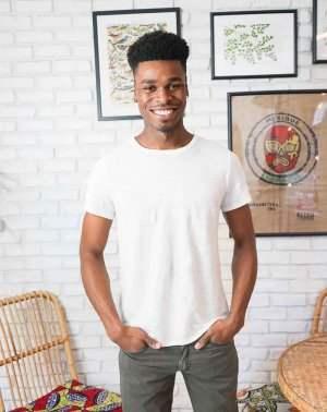 Zumoi homme t-shirt lin offwhite
