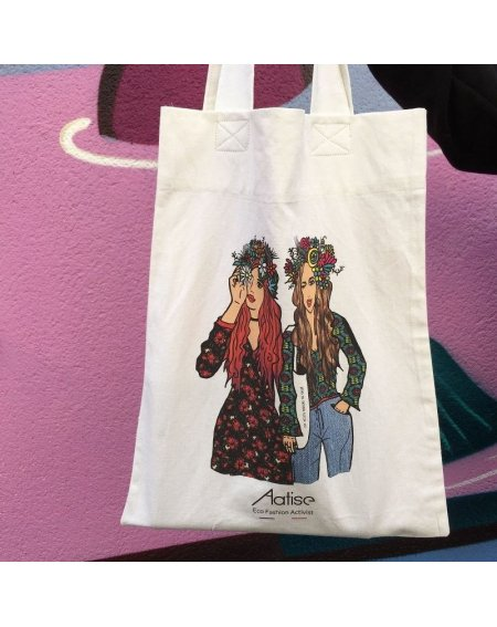 Upcycled Totebag  Duo Aatise