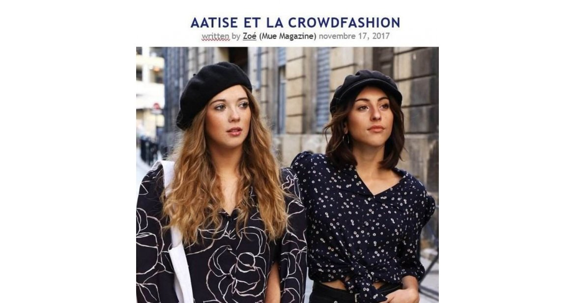 Aatise et la Crowdfashion